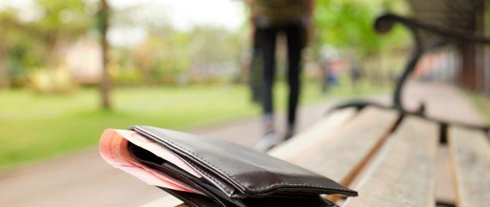 Losing your wallet